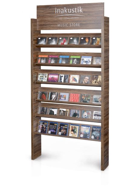 [Translate to French:] in-akustik Musicstore-Display