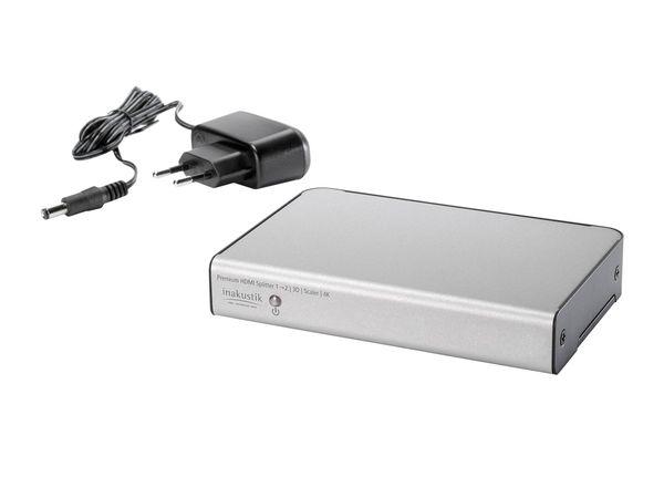 Premium HDMI Splitter 1 -> 2 High Speed 4K Scaler   3D - HDMI