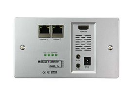 Excellence HD-Base-T Transmitter IP Wall Socket POE