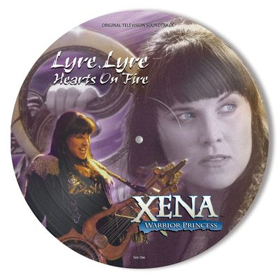 Xena: Warrior Princess - Lyre, Lyre (O.S.T.) - Picture Disc