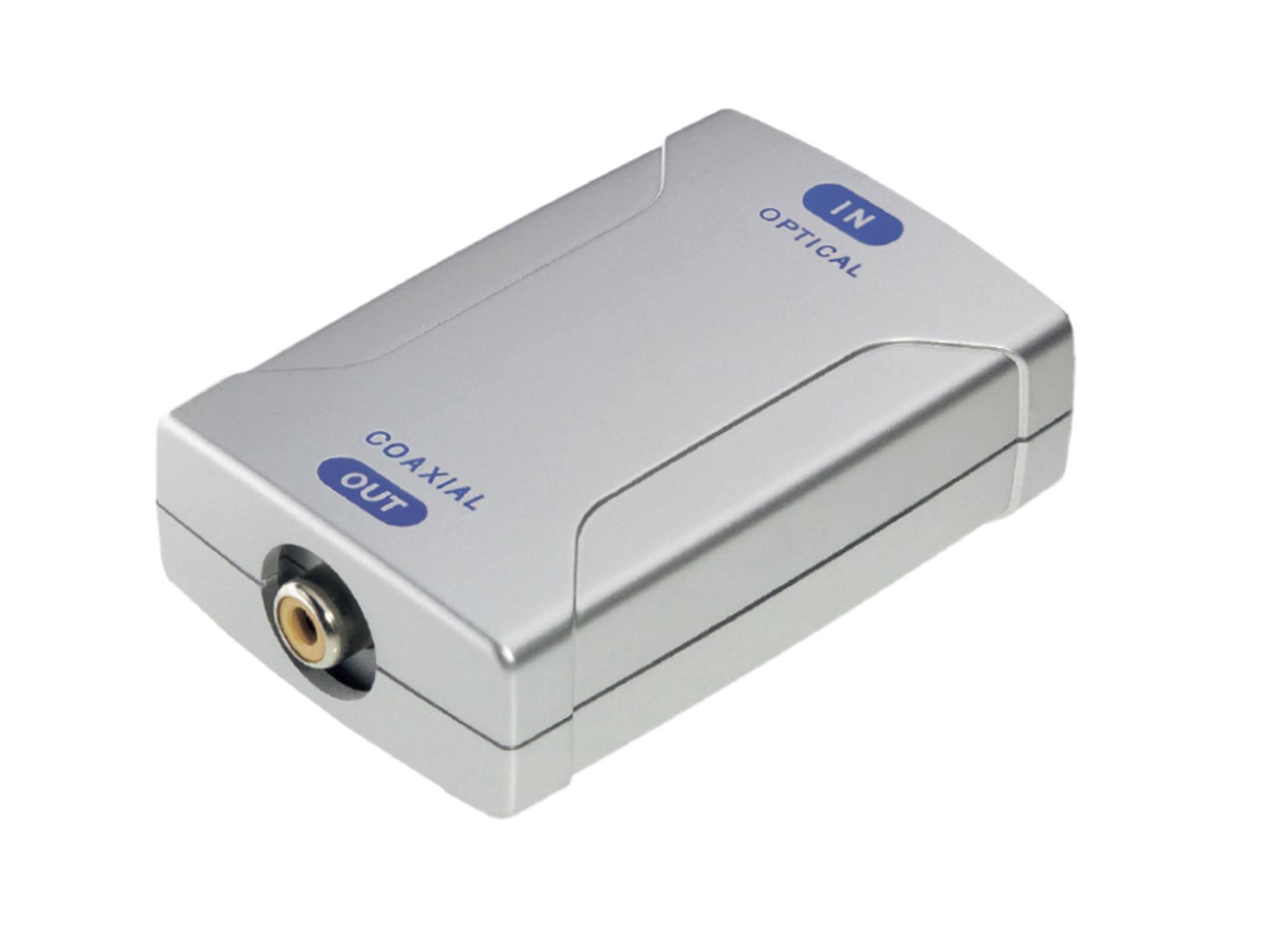 Premium Audio Konverter Opto > Koax - Audio Konverter :: in-akustik