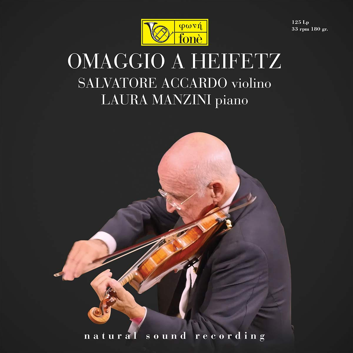 Omaggio A Heifetz (Natural Sound Recording)