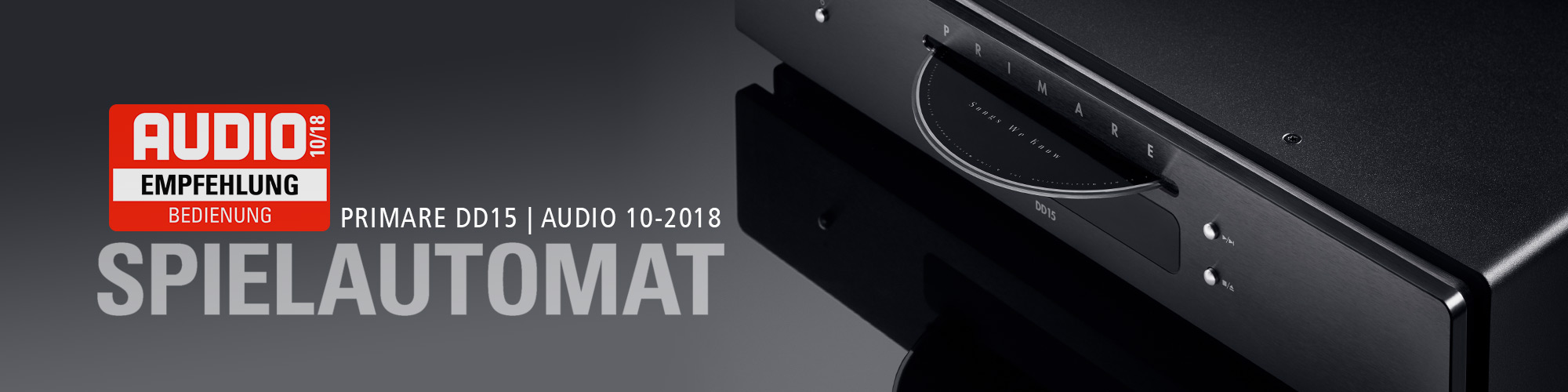 Primare DD15 | AUDIO 10-2018